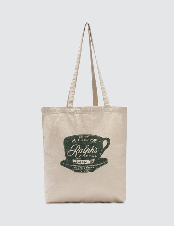 Polo Ralph Lauren Coffee Tote Bag