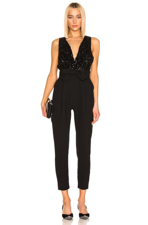 Zuhair Murad Bow Belt Jumpsuit