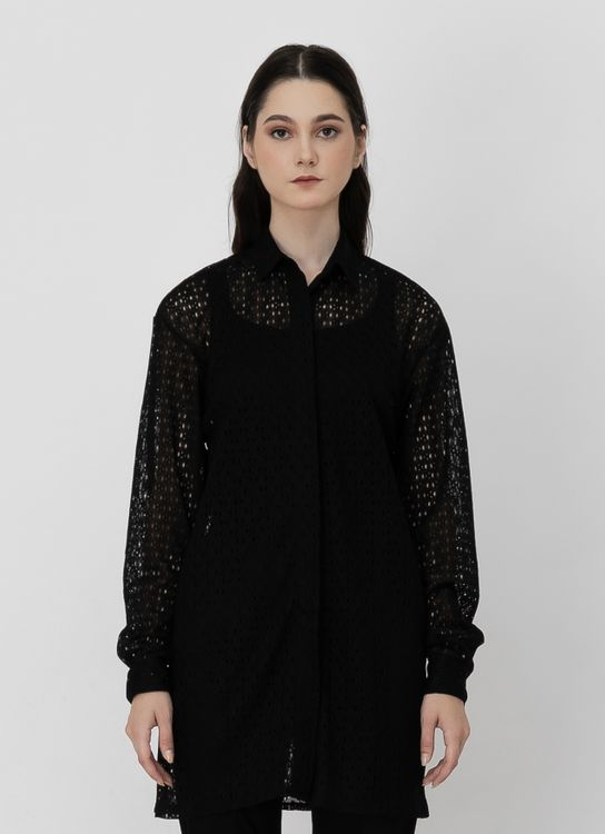 Day and Night Lucky Shirt - Black