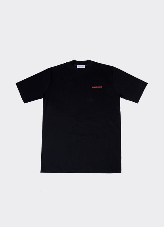Humble Minded High Density Back Print Tee - Black