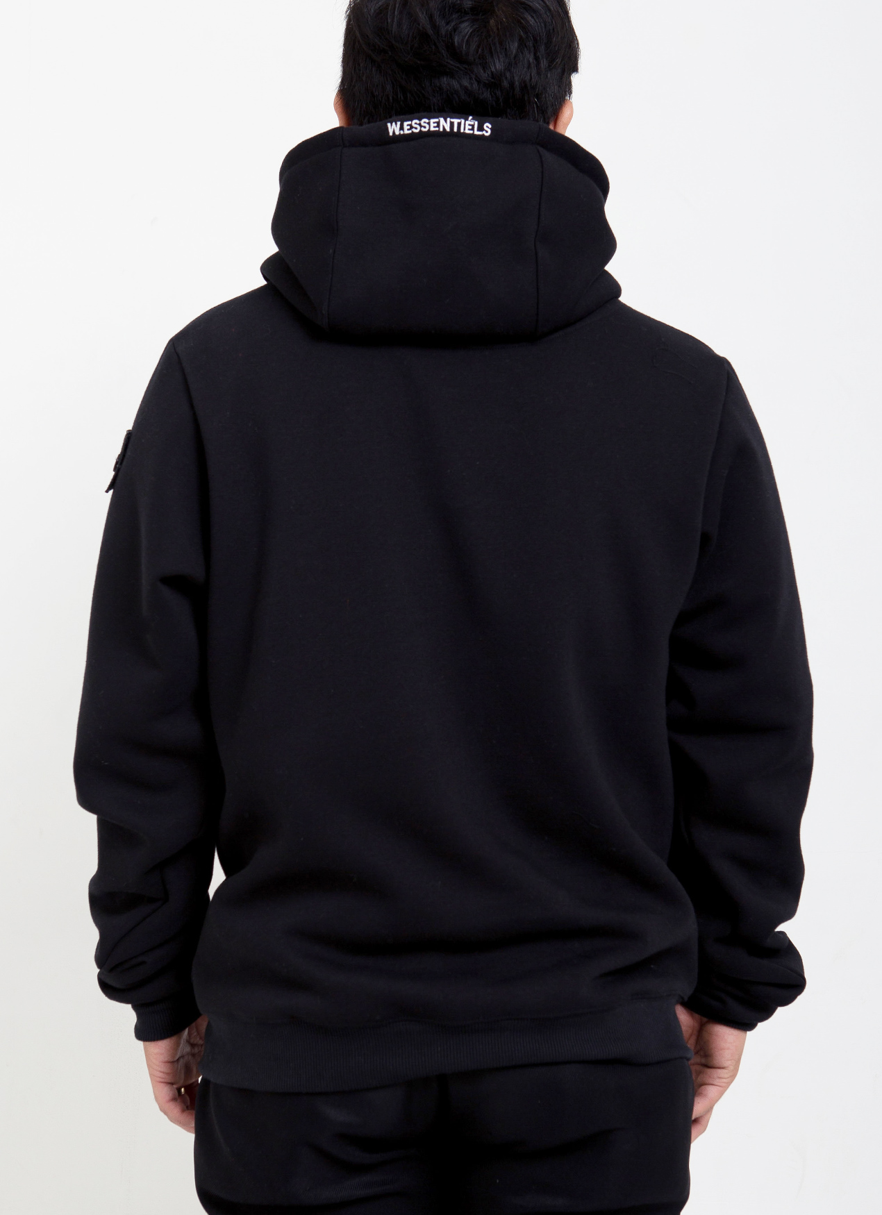 d7dee6c5d Buy Original W.Essentiels Maurice Oversized Hoodie - Noir Black at ...