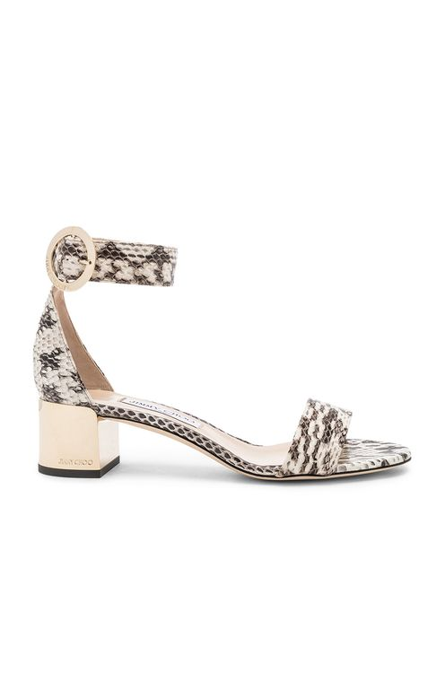 JIMMY CHOO Leather Jamie 40 Sandal