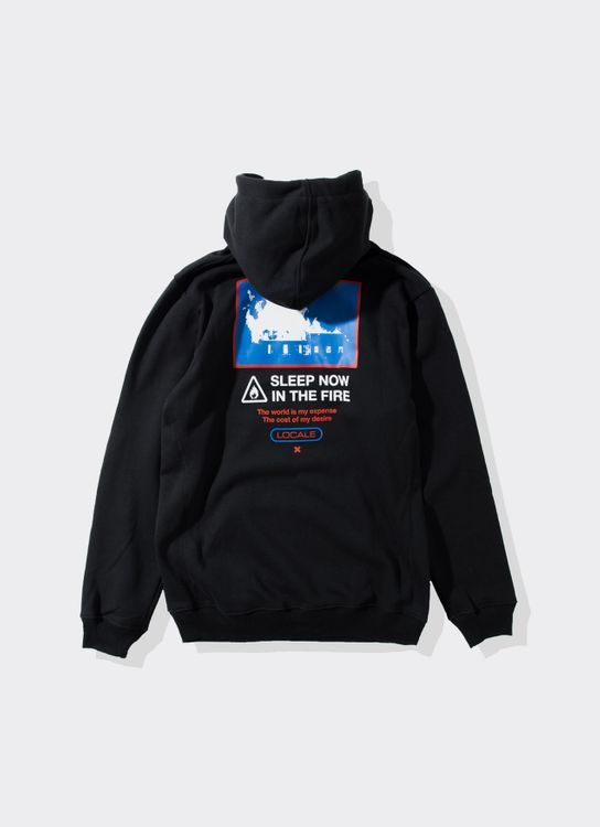 Locale Sleep Now in the Fire Hoodie - Black