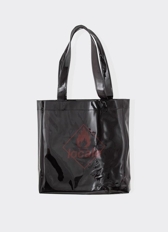 Locale Burn Totebag - Black