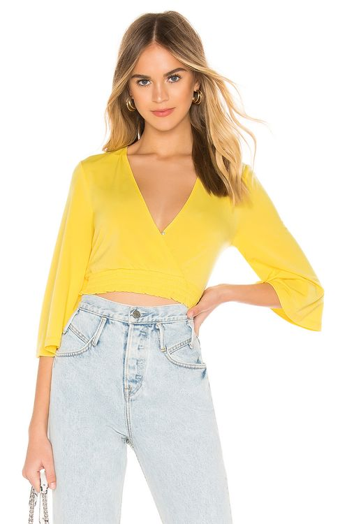 BCBGeneration Surplice Top