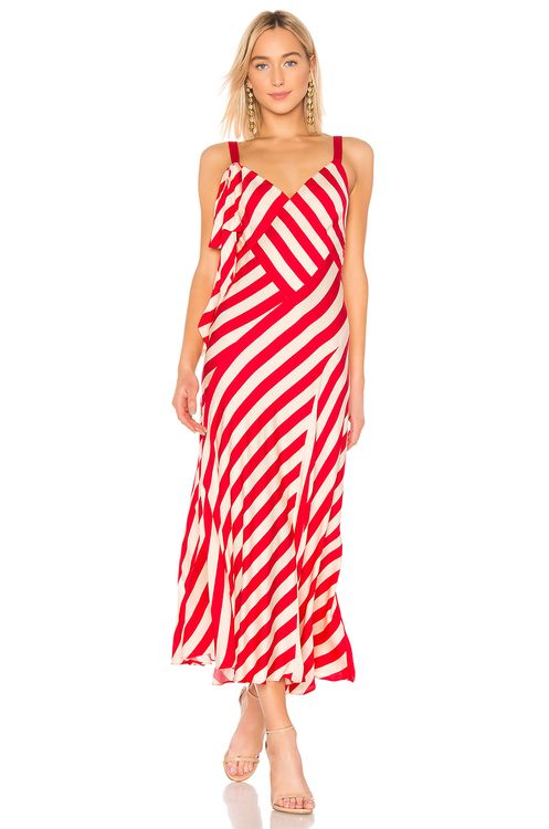 Jill Jill Stuart Striped Maxi Dress