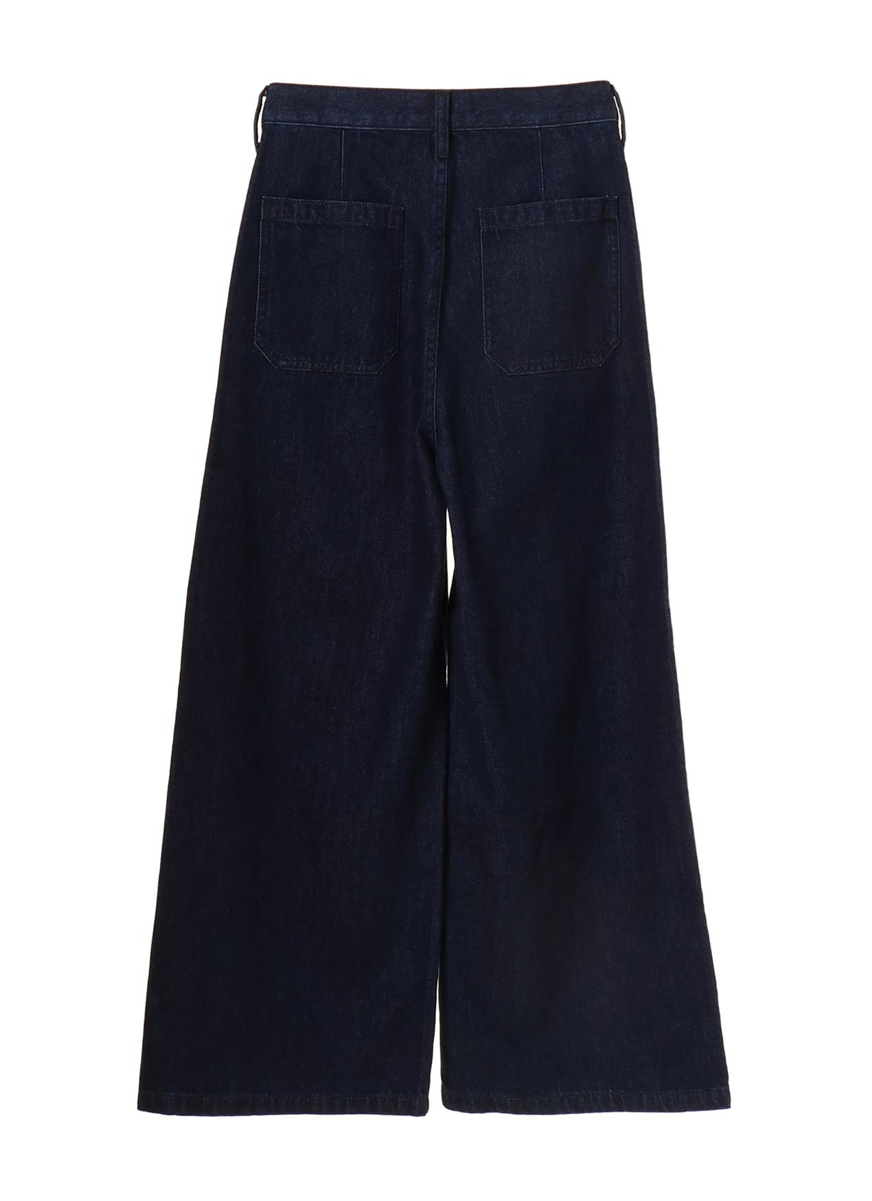 Earth, Music & Ecology Nanna Wide Denim Pants - Dark Indigo