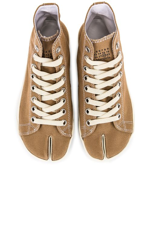 Maison Margiela High Top Canvas Sneakers