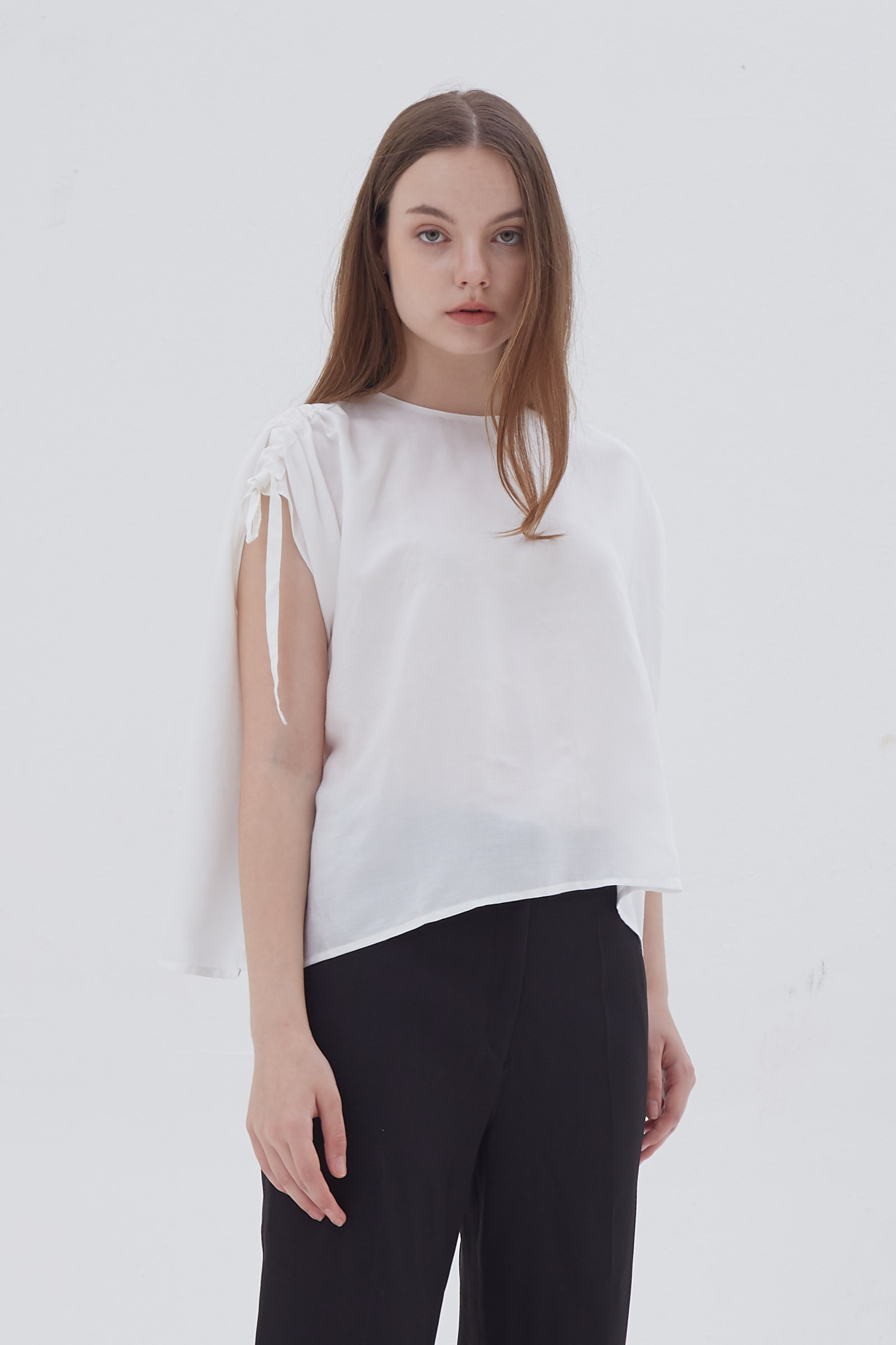 Shopatvelvet Dusk Top White