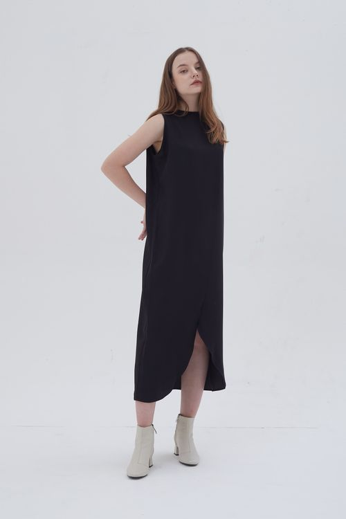 Shopatvelvet Assemble Dress Black