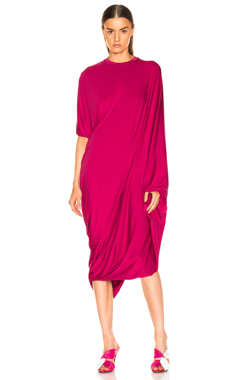 VETEMENTS Asymmetric Evening Dress