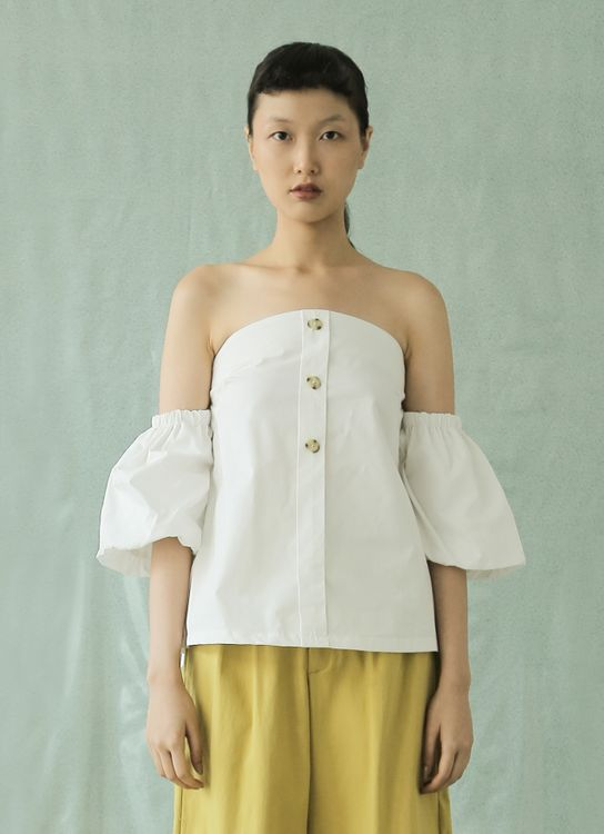Eesome Vanna Top - Off White