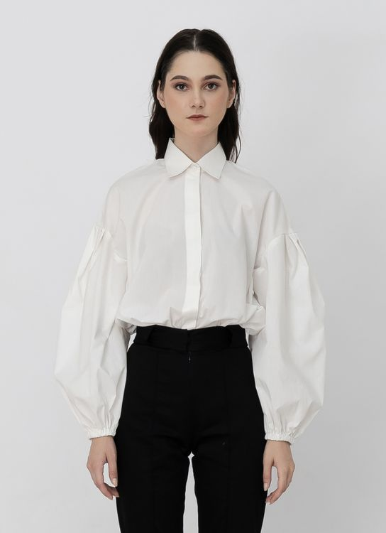 Day and Night Victoria Long Shirt - White