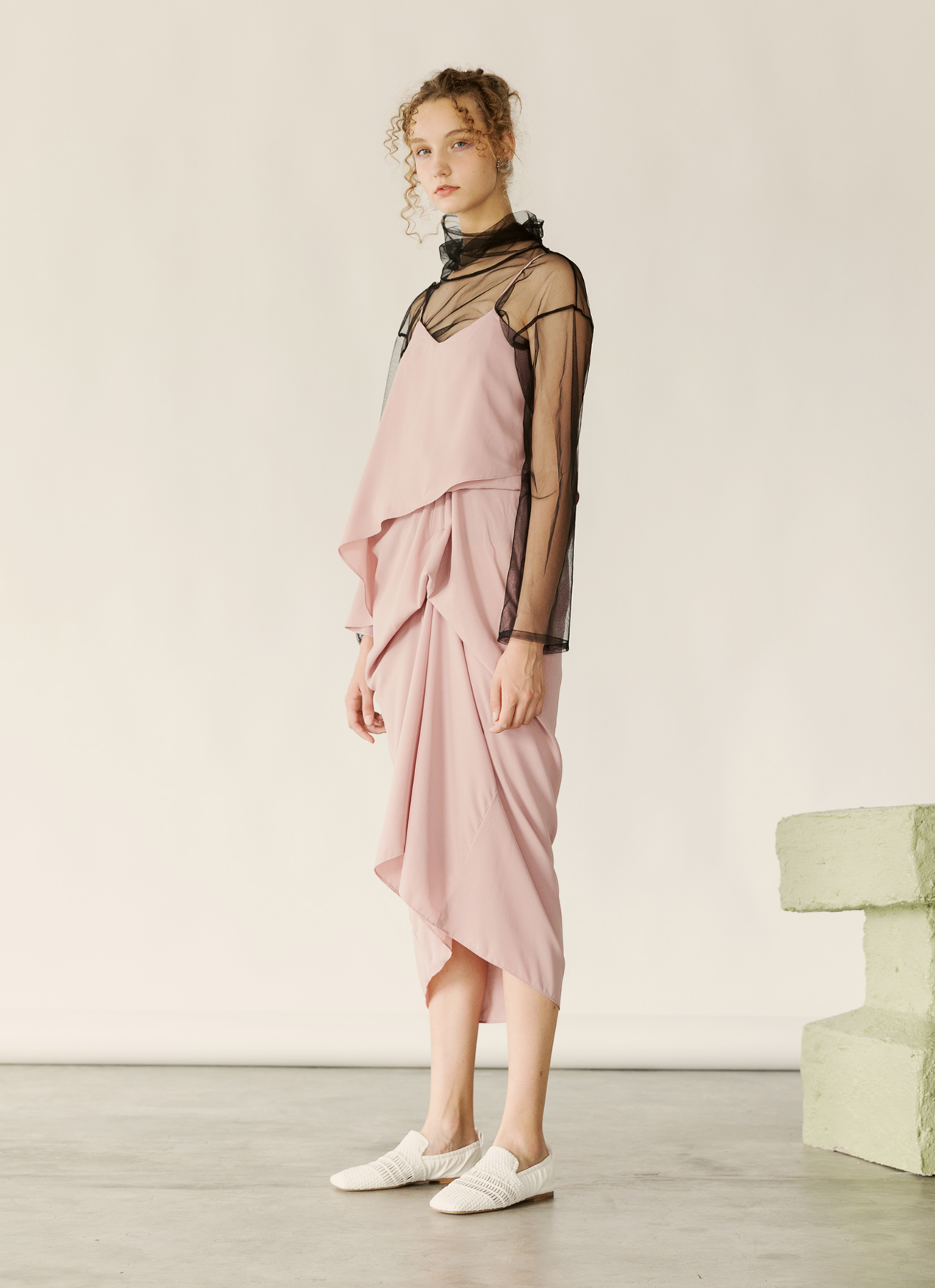 Fabrica Official Oscar Dress - Dusty Pink