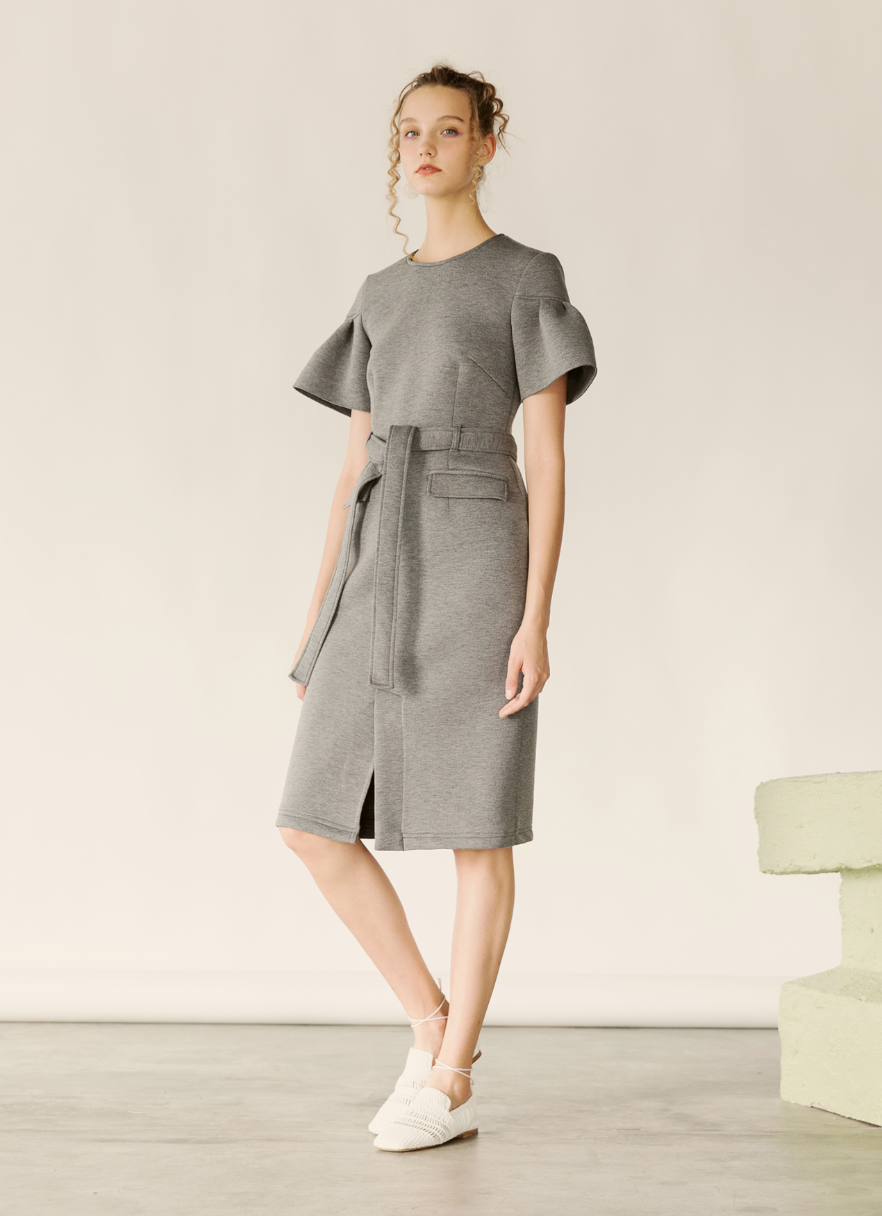 Fabrica Official Rowan Dress - Gray
