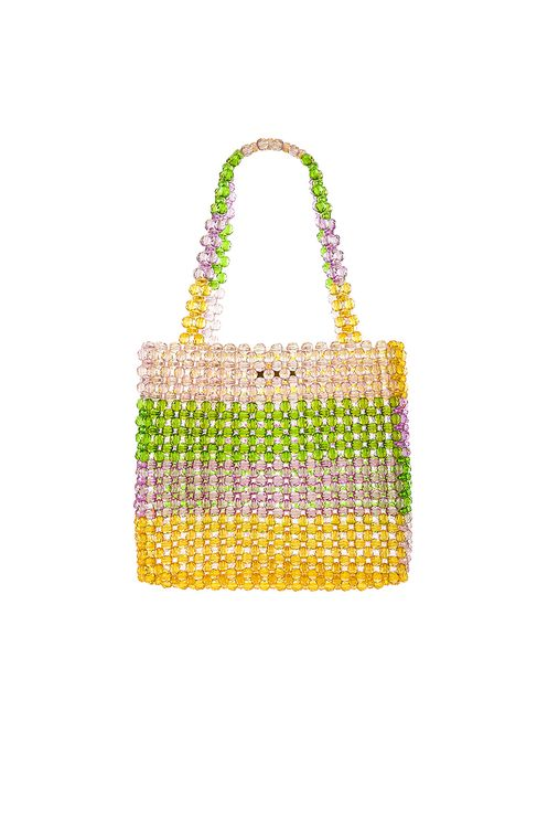 Lovers + Friends Justin Beaded Bag