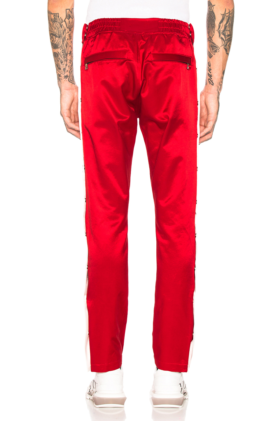 Just Don Satin Tearaway Pant