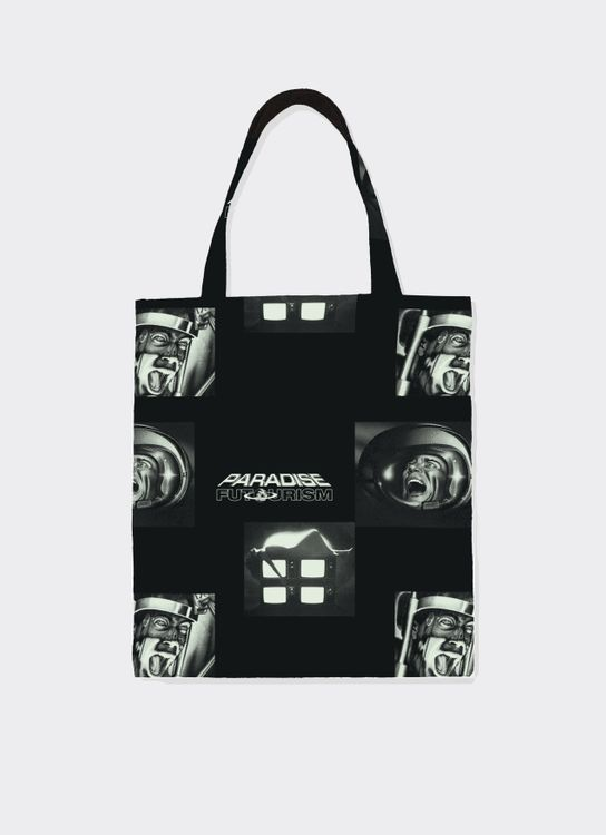 Paradise Youth Club Brain Shocking Tote Bag - Black