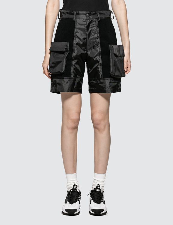 ALCH Velcro Panelled Short With Removable Pockets
