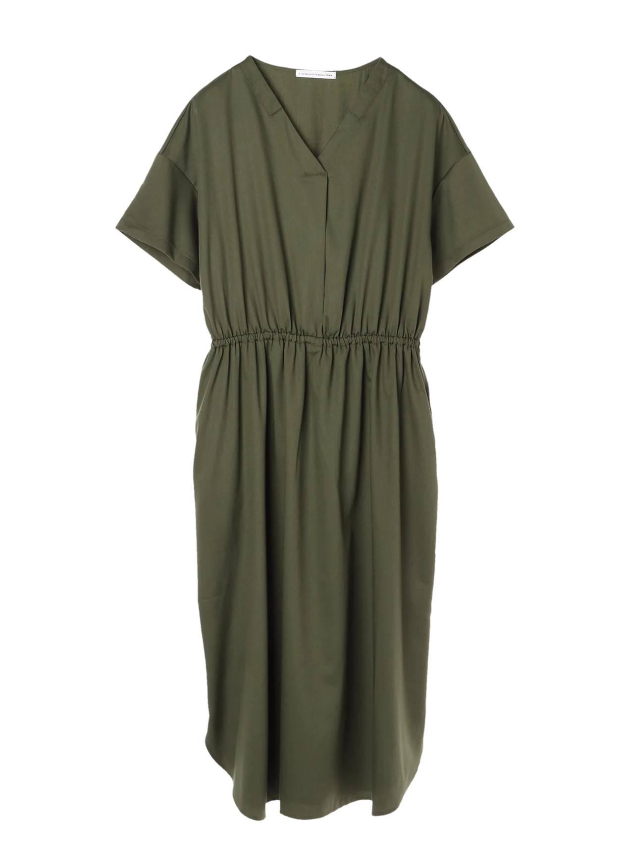 E-hyphen World Gallery Momo Dress - Khaki