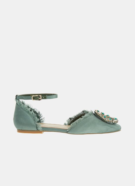 Winston Smith Honorina Flats - Green
