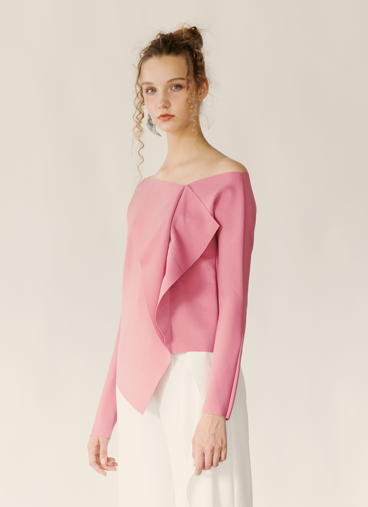 Fabrica Official Esme Top - Rose