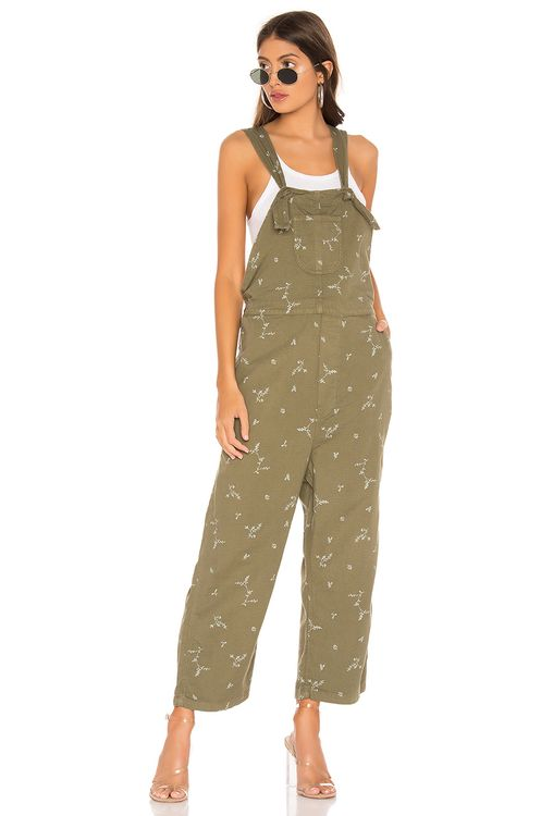 The Great The Easy Overall with Sprig Print