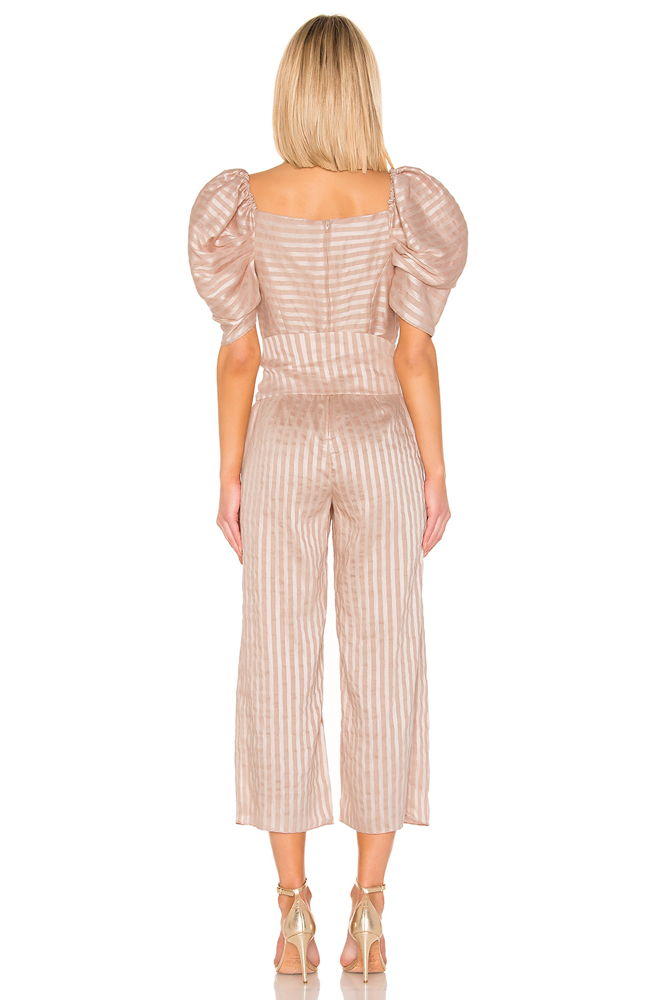 C/MEO Through You Jumpsuit In Shell