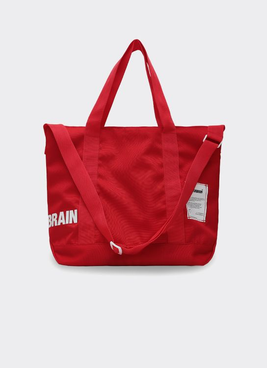 POSHBRAIN Hypnotized Tote Bag - Red