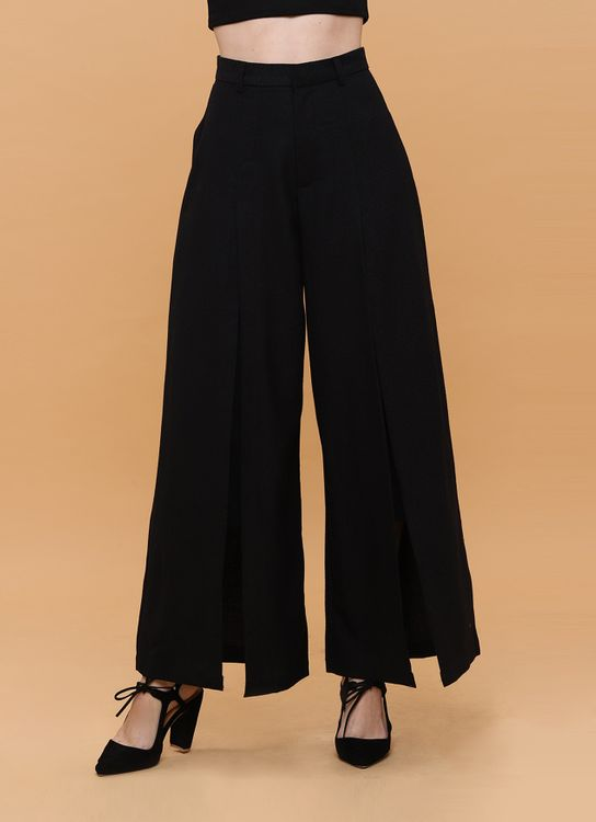 Wearstatuquo Statement Uptown Pants - Black