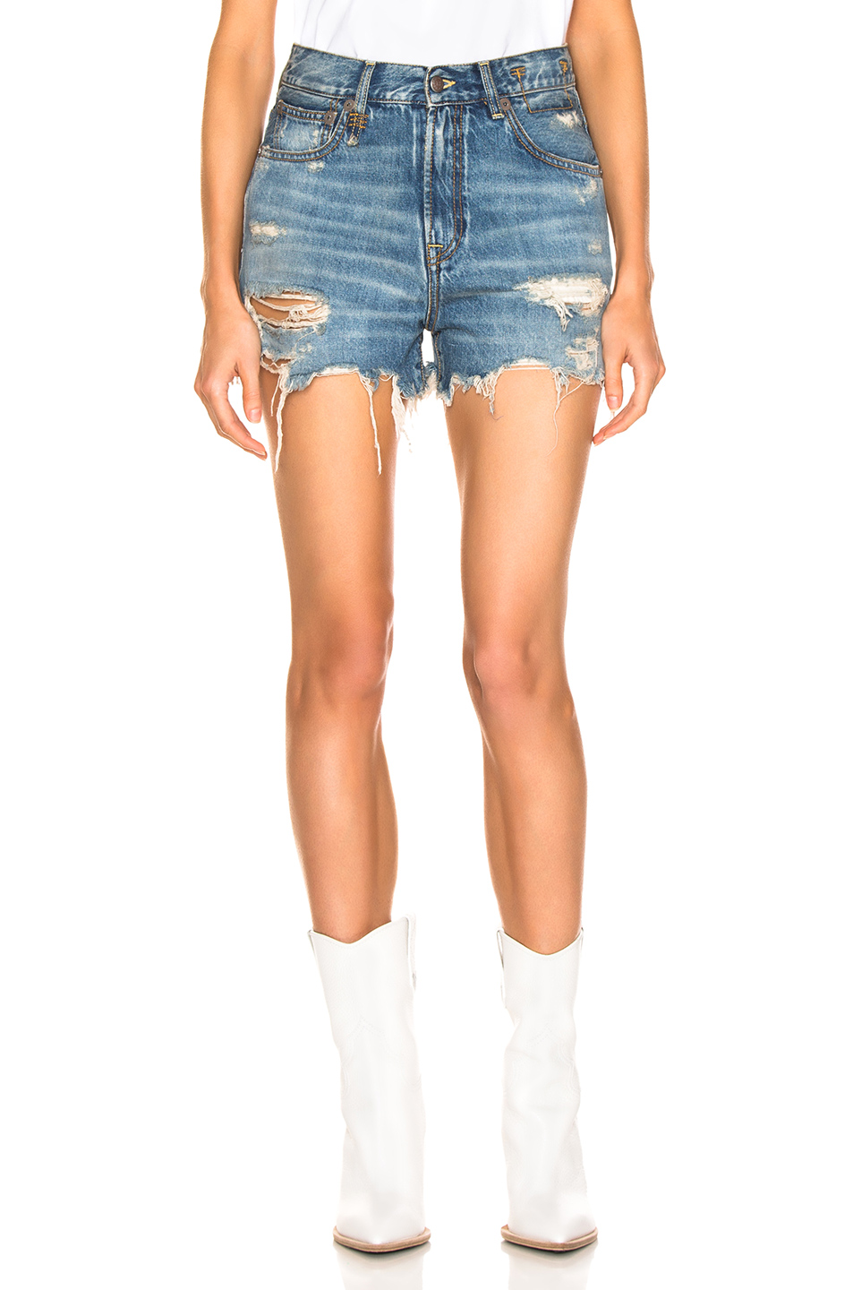 R13 Slouch Short