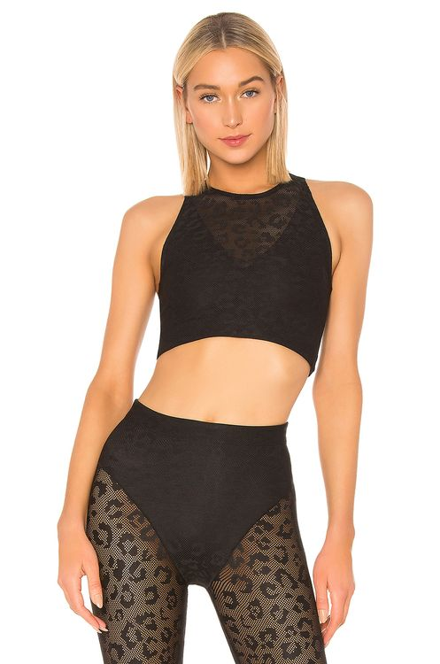 Adam Selman Racer Crop Top