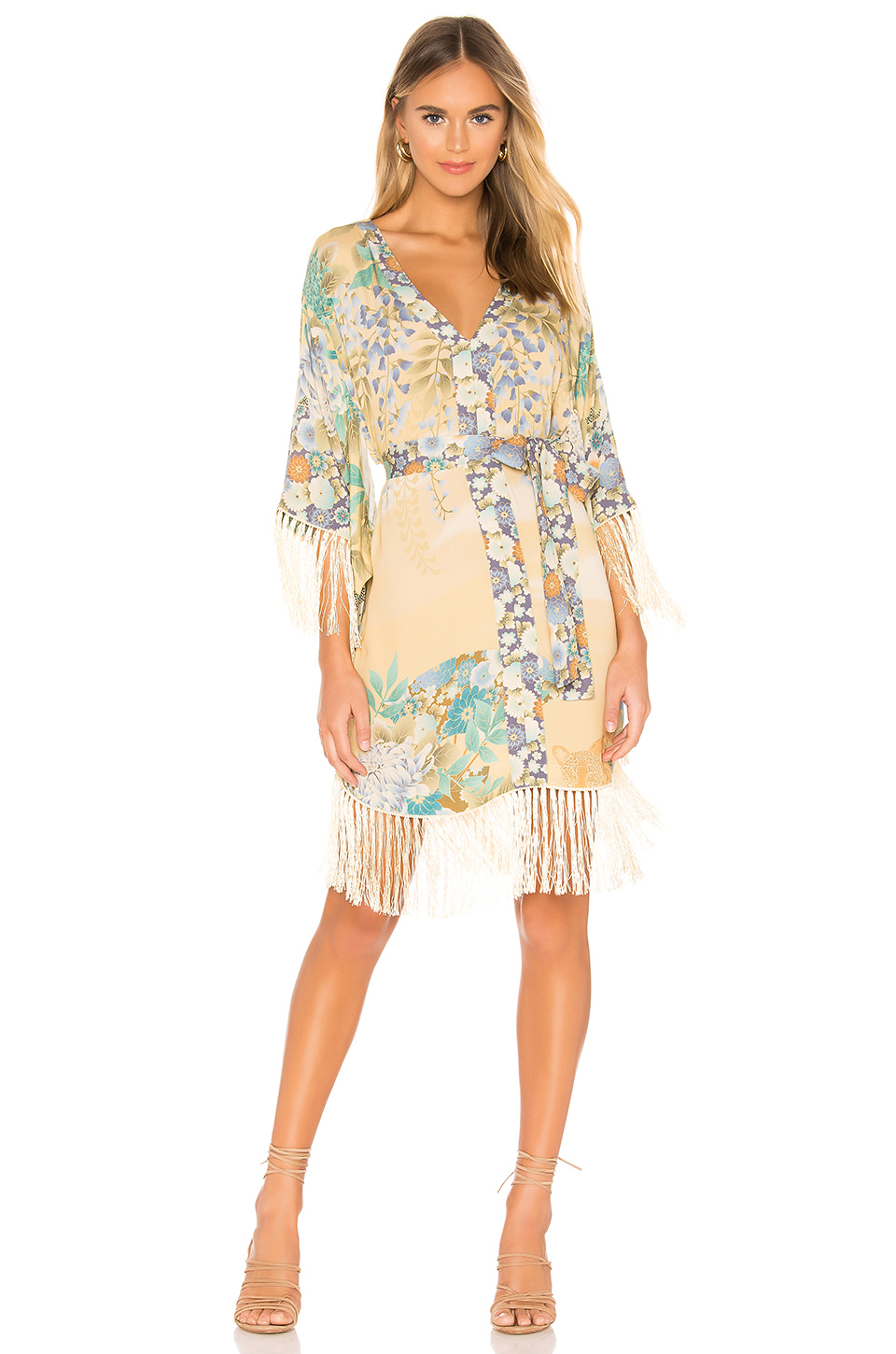 58756f07df Buy Original Spell   The Gypsy Collective Willow Tasseled Mini Dress ...