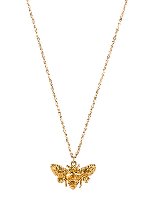 Natalie B Jewelry Queen Bee Necklace