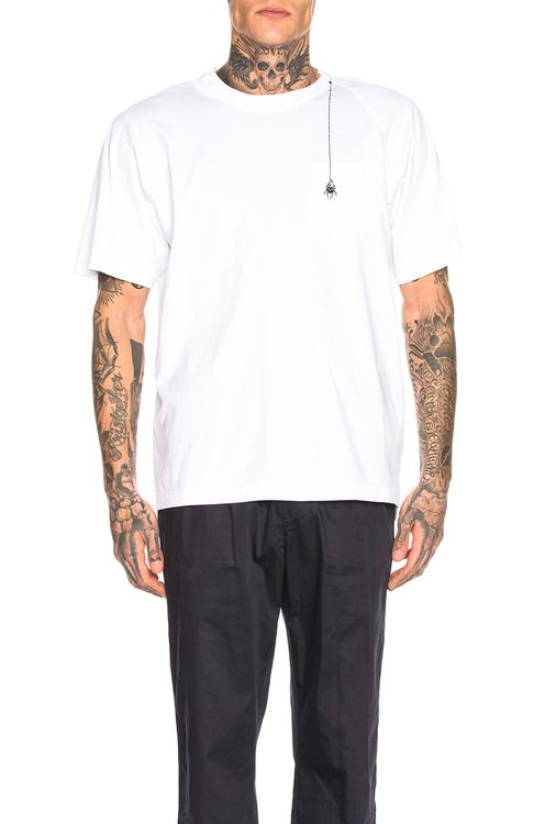 Sacai Dr. Woo Embroidered Tee