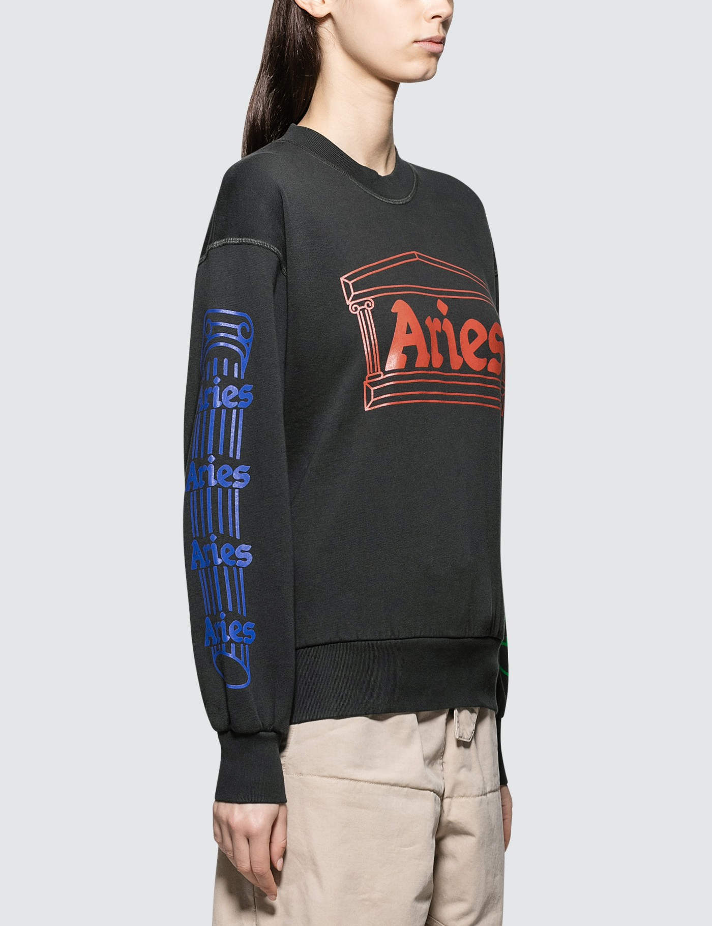 Aries Column Crew Sweat