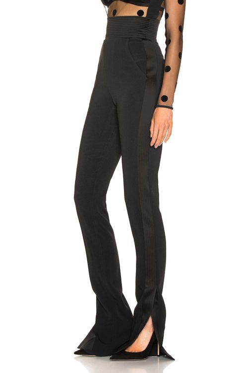 David Koma Side Panel Trouser Pant