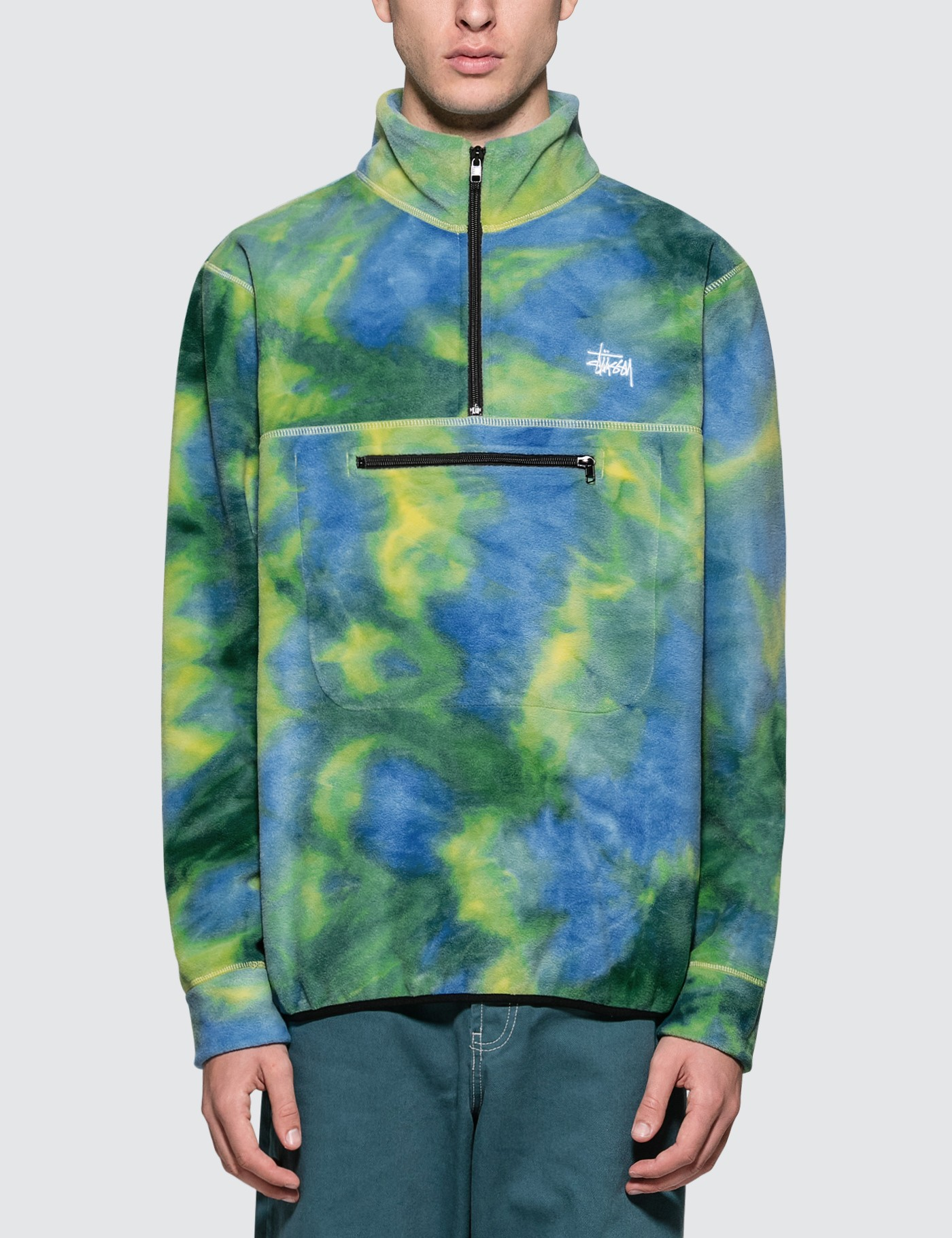 Stussy Polar Fleece Mock Neck