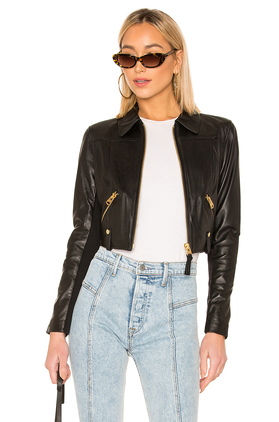 5ae58d10bb39 Buy Original Mackage Bessie Cropped Leather Jacket at Indonesia ...