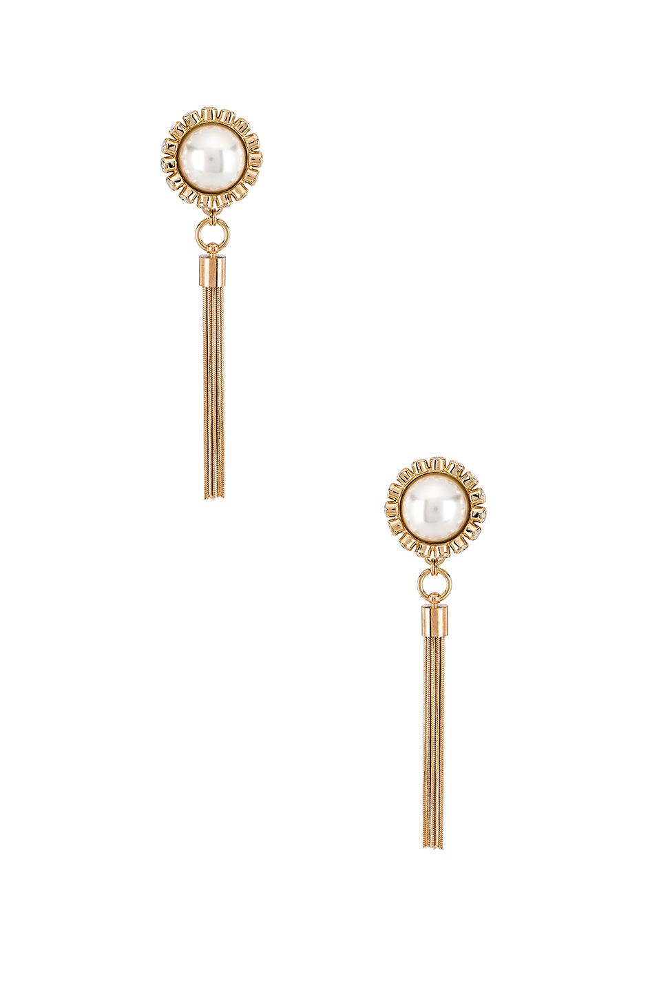 Anton Heunis Sphere Tassel Earrings