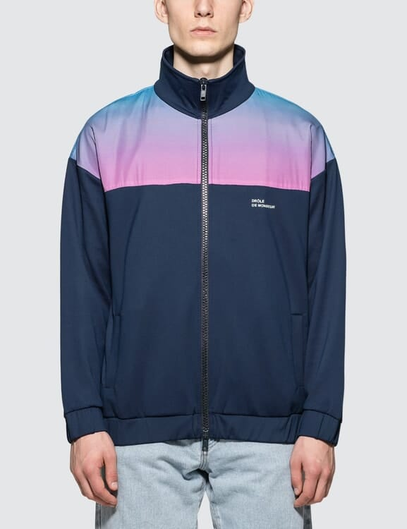 Drôle de Monsieur Shaded Stripe Trackjacket