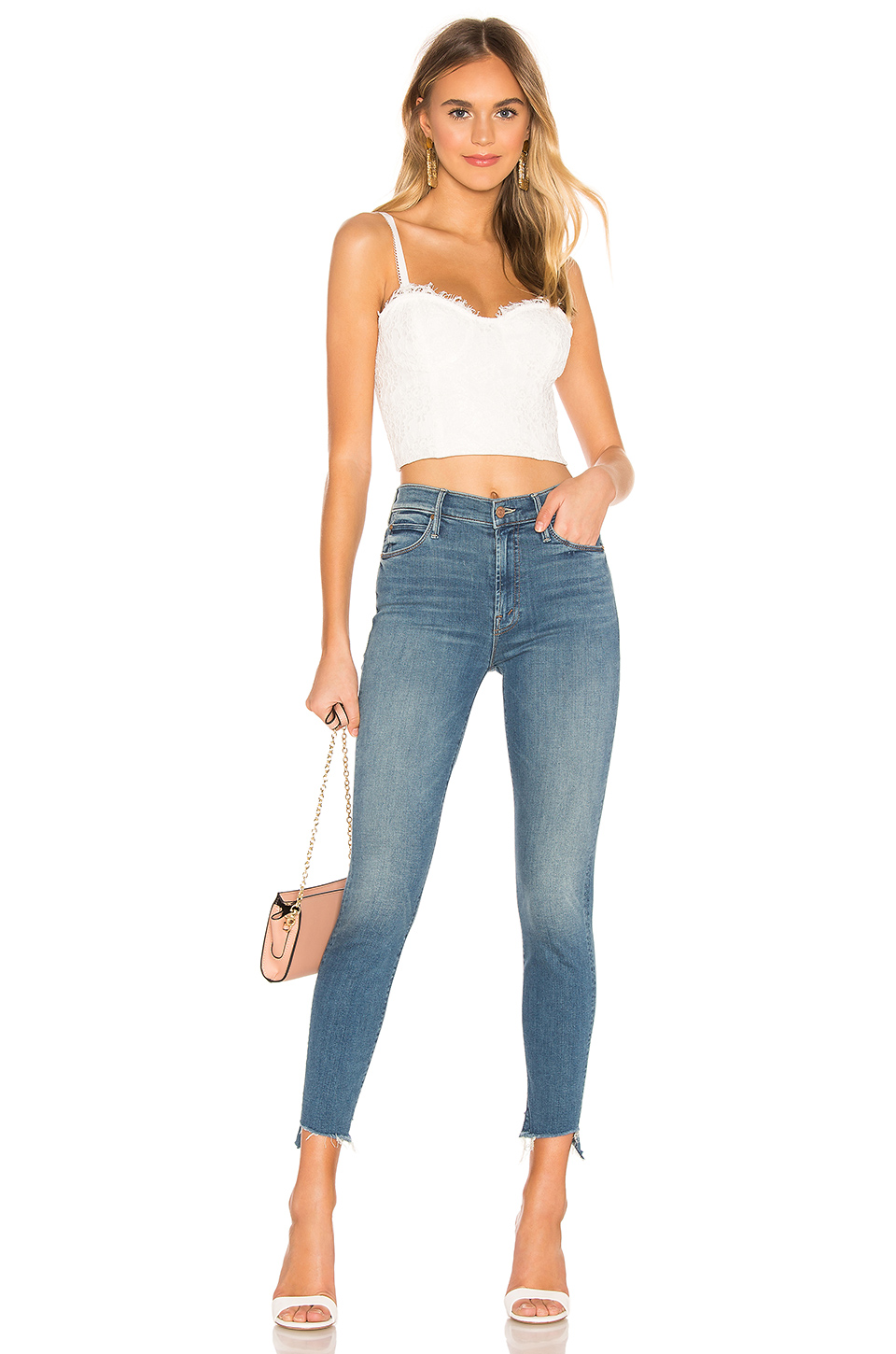 CAMI NYC The Scarlett Crop Top