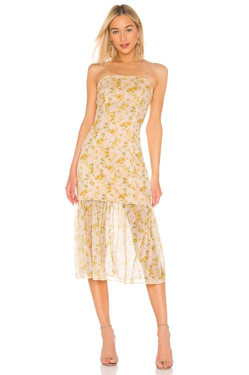ELLIATT Wattle Detachable Skirt Dress
