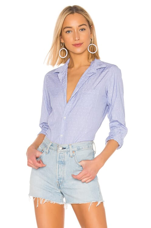 Frank & Eileen Barry Limited Edition Button Down Blouse