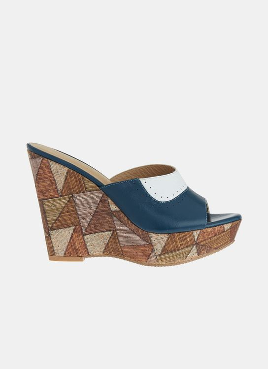 Winston Smith Sasha Wedges - Blue