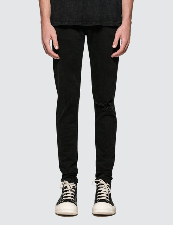 REPRESENT Clothing Blown Knee Denim Jeans