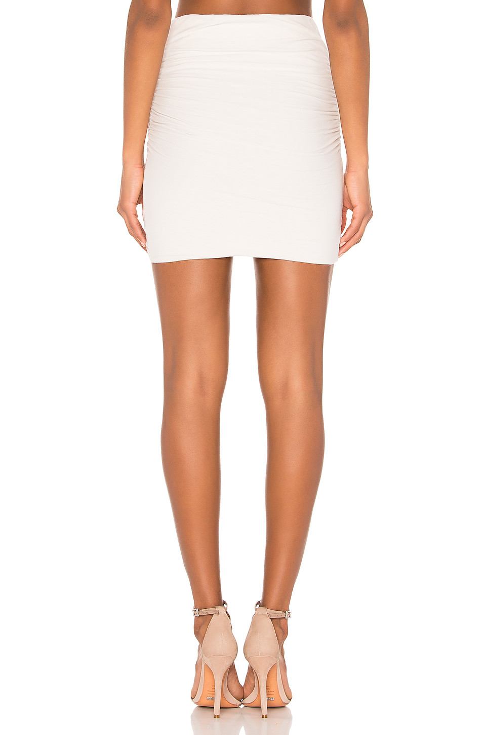 James Perse Wrap Mini Skirt