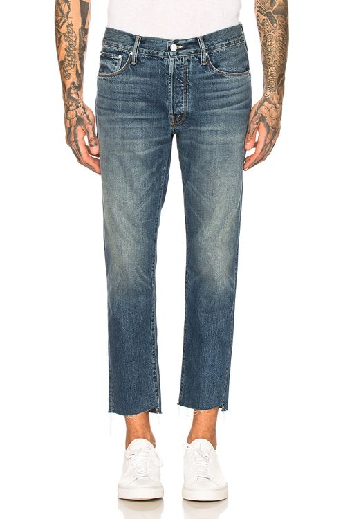 MOTHER The Neat Ankle Step Jean