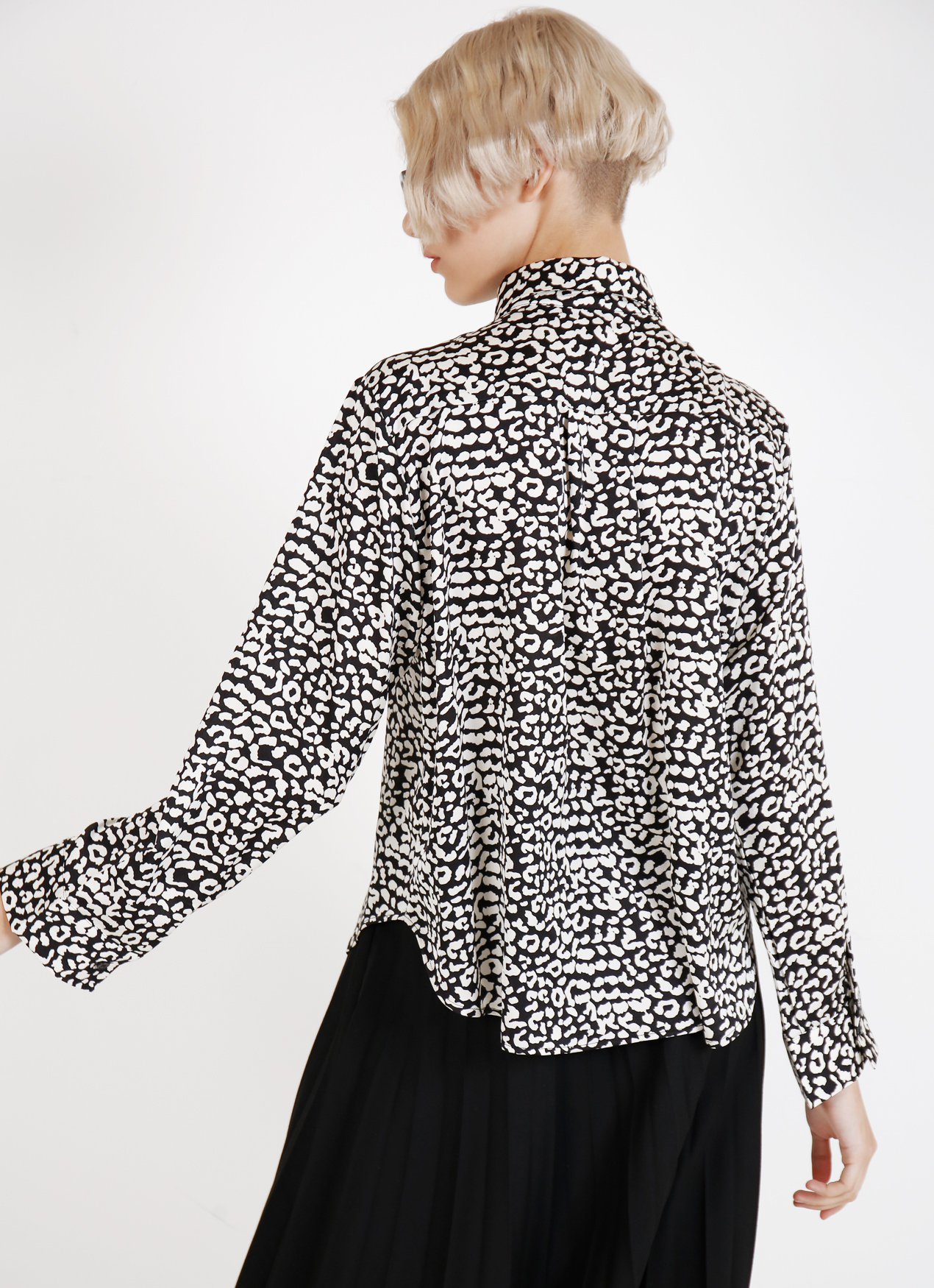BOWN Lilly Top - White Black