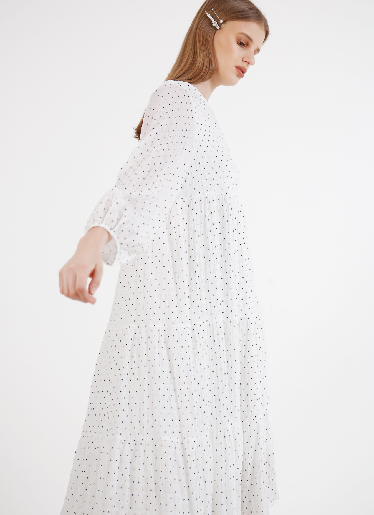 BOWN Nadya Dress - White